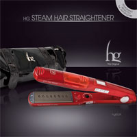 HG STEAM HAIR STRAIGHTENER